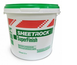 Шитрок/Sheetrock SuperFinish ( 3,5 л)